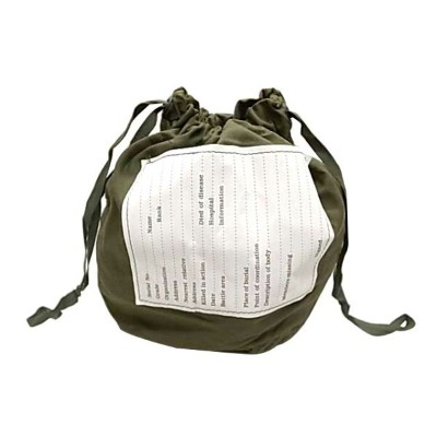 US ARMY アメリカ軍 personal effect bag パーソナルエフェクトバッグ MILITARY PURSE ミリタリー ポーチ 巾着 平ヒモ Deadstock
