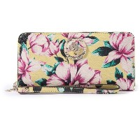 【SALE 30%OFF】ゲス GUESS LANDON LARGE ZIP AROUND WALLET (FLORAL MULTI) レディース