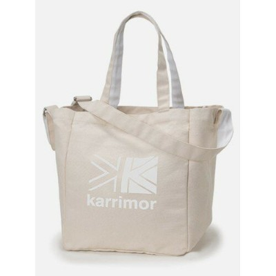 (karrimor)カリマー cotton tote (WhiteLogo)