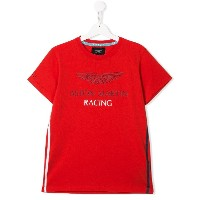 Hackett Kids Aston Martin Racing Tシャツ - レッド