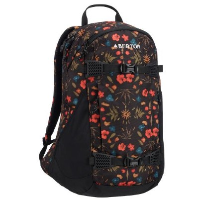 Women's Burton Day Hiker 25L Backpack2019SS Black Fresh Pressed Print