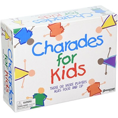 Pressman Toys The Best of Charades for Kids PRE300912