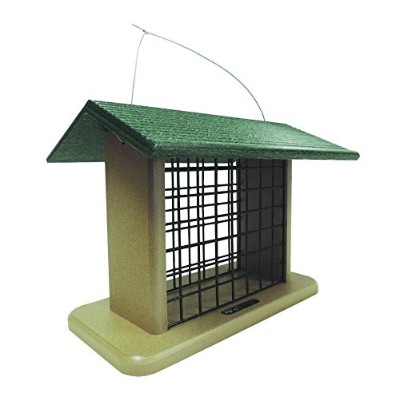 Birds Choice SNBLOCK Recycled Seed & Suet Block Feeder