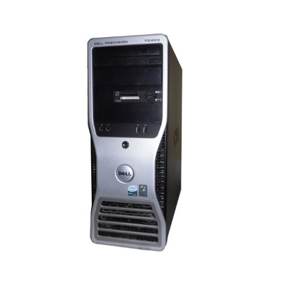 中古ワークステーション WindowsXP DELL PRECISION T5400 Xeon X5450 3.0GHz/4GB/250GB×2/FX1700