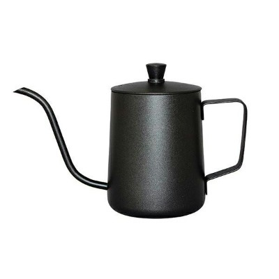 HOME MADE CAFE(ホームメイドカフェ) ドリップポット 黒 630ml 51434 メーカ直送品  代引き不可/同梱不可