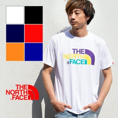 【THE NORTH FACE ザノースフェイス】S/S Colorful Logo Tee ショートスリーブカラフルロゴティー NT31931 ザノースフェイス Tシャツ ノースフェイス tシャツ...