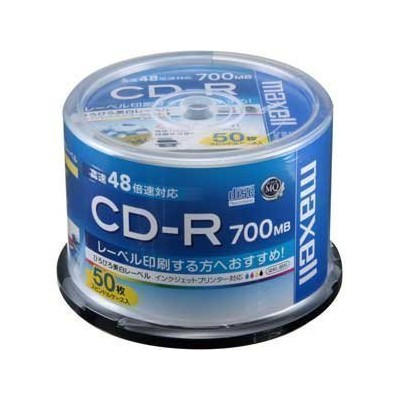 マクセル CD−RCDR700SWP50SP CDR700SWP