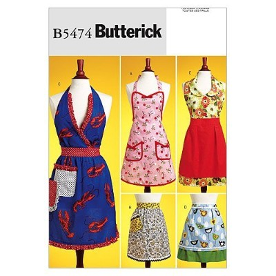 Butterick Patterns B5474 Aprons, All Sizes by BUTTERICK PATTERNS