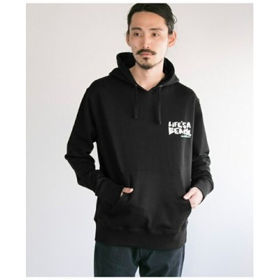 URBAN RESEARCH LIFE'S A BEACH LAB LOGO HOOD アーバンリサーチ カットソー【送料無料】