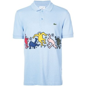 Lacoste Lacoste x Keith Haring ポロシャツ - ブルー