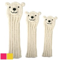 Sunfish Animal Headcover Collection Polar Bear Headcovers【ゴルフ アクセサリー>ヘッドカバー】