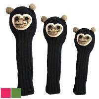 Sunfish Animal Headcover Collection Monkey Headcovers【ゴルフ アクセサリー>ヘッドカバー】