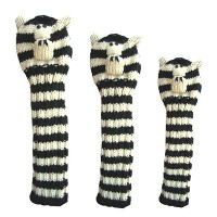 Sunfish Animal Headcover Collection Zebra Headcovers【ゴルフ アクセサリー>ヘッドカバー】