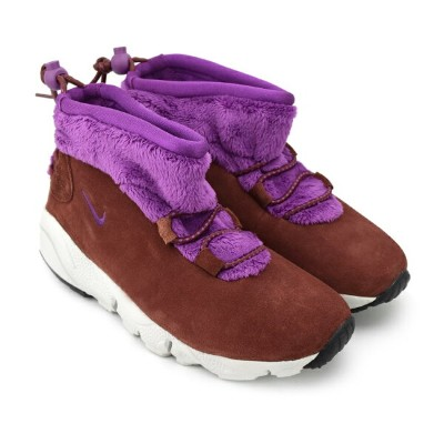 WMNS NIKE AIR BAKED MID MOTION OXEN BROWN/BOLD BERRY-BLD BRRY ウィメンズ ナイキ エア ベイクド ミッド モーション