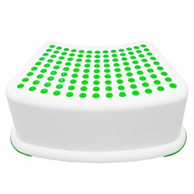 Kids Green Step Stool - Great For Potty Training, Bathroom, Bedroom, Toy Room, Kitchen, and Living...