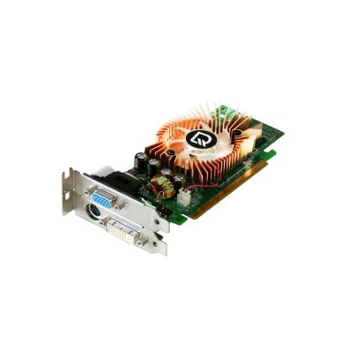 LEADTEK GeForce 8500GT 256MB DVI/VGA/TV-out PCI Express x16 WinFast PX8500 GT TDH Low Profile【中古】...