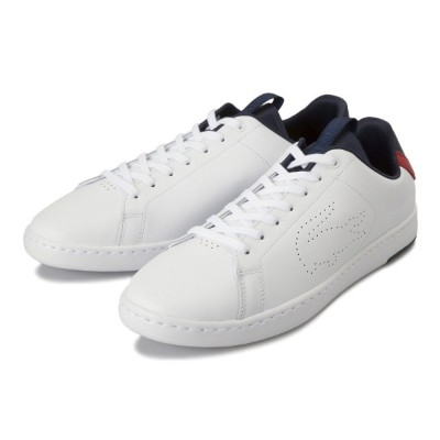 【LACOSTE】 ラコステ CARNABY EVO LIGHT-WT カーナビー 119 1 SMA0015 407 WHT/NVY/RED