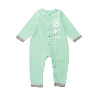 【SALE(伊勢丹)】 IN THE HOUSE  カバーオール HOUSE PASTEL COVERALL(BABY) グリーン 【三越・伊勢丹/公式】 衣服~~ベビー服