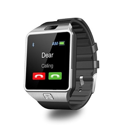 DZ09 Smart Watch Android Sim Card Slot Smartwatch with TF Card Camera by Heshi Inc [並行輸入品]