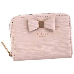 【SALE 19%OFF】テッドベーカー TED BAKER TEXTURED SML ZIP PURSE (LT-PINK) レディース