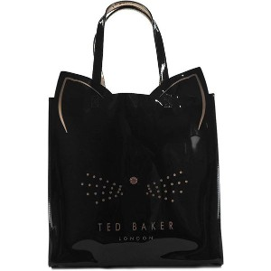 【SALE 19%OFF】テッドベーカー TED BAKER CAT LARGE ICON BAG (BLACK) レディース