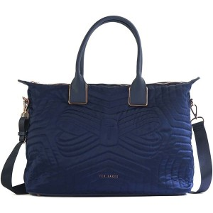 【SALE 20%OFF】テッドベーカー TED BAKER QUILTED BOW LARGE NYLON TOTE (NAVY) レディース