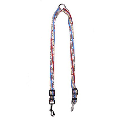 Yellow Dog Design Vintage Made in The USA Coupler Dog Leash-Size Small-3/8 inch Wide and 9 to 12...
