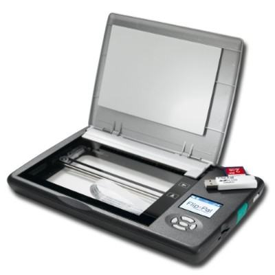 Flip-Pal Mobile Scanner with SD to USB adaptor, 4GB, and EasyStitch and StoryScans software