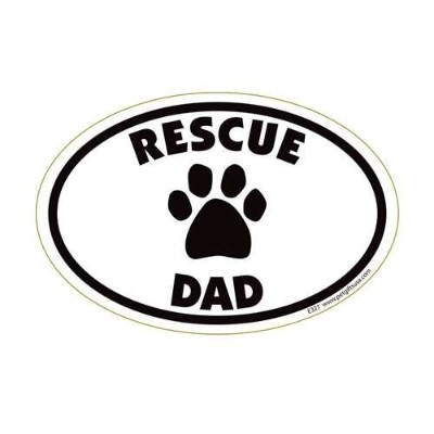 Dog Grandma Oval Magnet by Pet Gifts USA