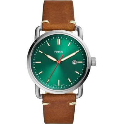 【SALE/30%OFF】FOSSIL FOSSIL/(M)THE COMMUTER 3H DATE_FS5540 フォッシル ファッショングッズ 腕時計 グリーン【送料無料】