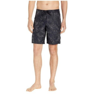 アンダーアーマー Under Armour メンズ 水着・ビーチウェア 海パン【Shore Break Printed Boardshorts】Black/Pitch Gray
