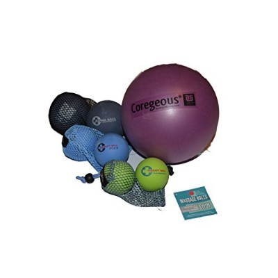 Yoga Tune Up Set of Various Ball Sizes and Colors - original tune up balls, PLUS balls, ALPHA TWINS...