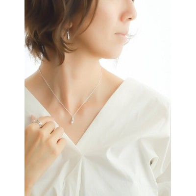 naotjewelry naotjewerly/Silver925 Teardrop Necklace ナオットジュエリー アクセサリー ネックレス シルバー【送料無料】
