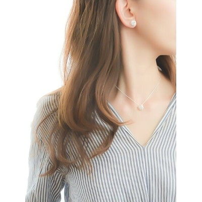 naotjewelry naotjewelry/Twist Silver Necklace ナオットジュエリー アクセサリー ネックレス シルバー【送料無料】