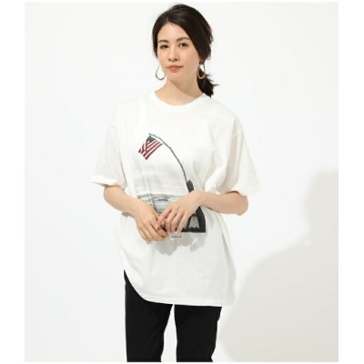 AZUL by moussy USA CALIF PHOTO TEE アズールバイマウジー カットソー