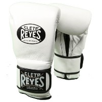 Cleto Reyes クレト・レイエス(レイジェス) ボクシング グローブ Hook and Loop Closure Leather Training Boxing Gloves ホワイト