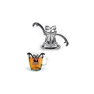 Stainless Frog Tea Infuser Diffuser Loose Leaf Strainer Herbal Spice Filter New by BLANCHE_ZHU