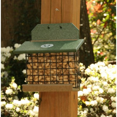 Songbird Essentials SERUBSQF100HD Squirrel Feeder Hunter Driftwood