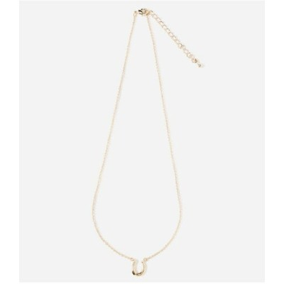 AZUL by moussy T/C HORSE HOOF NECKLACE アズールバイマウジー アクセサリー