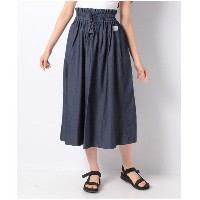 【SALE 40%OFF】actuelselect 【Lee】TUCK SKIRT(インディゴ)【返品不可商品】