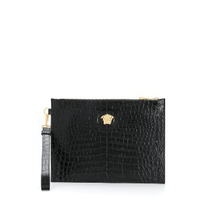 Versace Medusa head clutch bag - ブラック