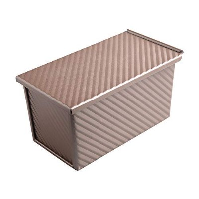 Bakerdream Bakeware Loaf Pan With Cover 22cm x 12cm Bread Toast Mould with Lid