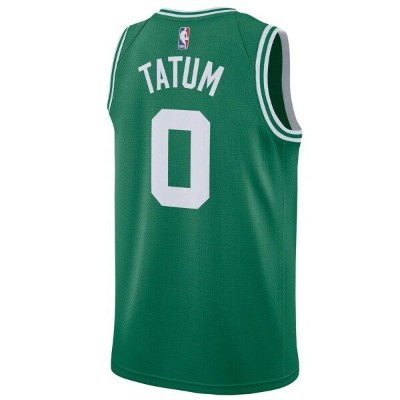 ナイキ Nike メンズ バスケットボール トップス【NBA Swingman Jersey】NBA Boston Celtics Jayson Tatum Green