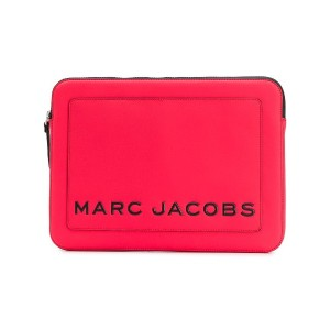 Marc Jacobs ロゴ クラッチバッグ - レッド