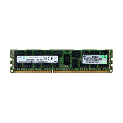 647650-071 HP 8GB PC3L-10600R DDR3-1333 ECC Registered 1.35V 240pin Samsung M393B1K70DH0-YH9Q9【中古】...