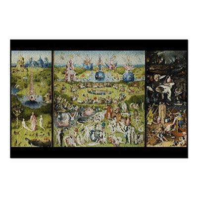The Garden of Earthly Delights – (アーティスト: Hieronymus Bosch C。1480 ) – Masterpieceクラシック( 20 x...