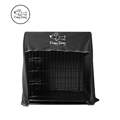 Floppy Dawg Crate Cover. Fits Most Dog Crates. Easy to Put On, Take Off, and Adjust. Doubles as a...