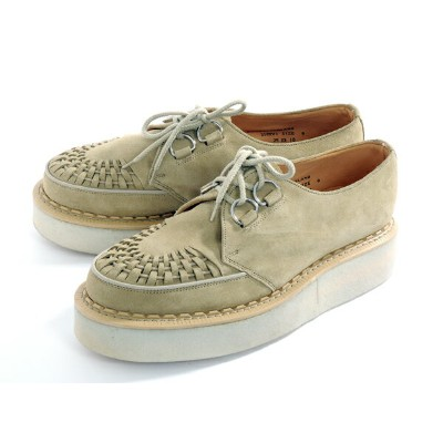 【GEORGE COX】 ジョージコックス RUBBER SOLE ラバーソール SAND/SUEDE