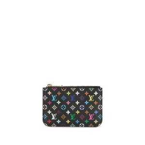 Louis Vuitton Pre-Owned ポシェット クレ NM コインケース - ブラック