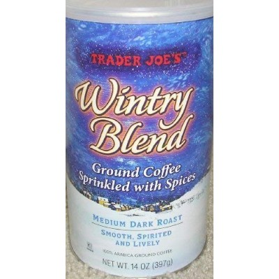 Trader Joe's(トレーダージョーズ) Wintry Blend Ground Coffee, 14 ounces (Pack of 2)
